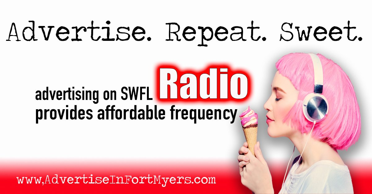 Advertising on SWFL radio Frequency